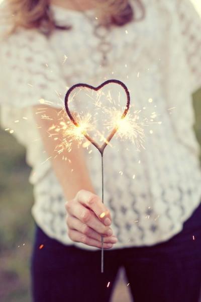 Cute fireworks heart photography favim com 632607